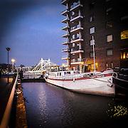 Houseboat sul Tamigi<br /> <br /> Houseboat on the Thames