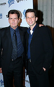 Charlie Sheen & Jon Cryer<br />Scary Movie 3 Premiere in Los Angeles<br />AMC Theatres Avco Cinema<br />Los Angeles, CA, USA <br />Monday, October 20, 2003<br />Photo By Celebrityvibe.com/Photovibe.com