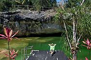 Daniele nel suo Cenote.