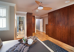 1126 25th St Nw Washington, DC designer Cynthia Prizant Master Bedroom Clothes closet dressing room