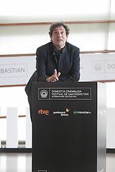 23.09.2015, Madrid, San Sebastian, ESP, San Sebastian International Film Festival, im Bild Movie director Agusti Villaronga poses during `El rey de la Habana´ film presentation // during the San Sebastian International Film Festival in Madrid in San Sebastian, Spain on 2015/09/23. EXPA Pictures © 2015, PhotoCredit: EXPA/ Alterphotos/ Victor Blanco<br /> <br /> *****ATTENTION - OUT of ESP, SUI*****