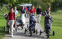 CAPELLE -  Talentcoach. Junior golf op Cappelle.  COPYRIGHT KOEN SUYK