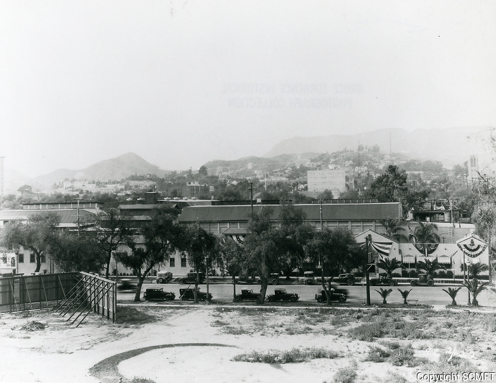 1927 Christie Studios on Sunset Blvd.
