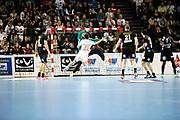 DESCRIZIONE : France Hand D1 Championnat de France D1 a Montpellier<br /> GIOCATORE : Maxime ARVIN BEROD<br /> SQUADRA : Montpellier<br /> EVENTO :  Hand D1<br /> GARA : Montpellier Dunkerque<br /> DATA : 25/10/2012<br /> CATEGORIA : Hand D1 <br /> SPORT : Handball<br /> AUTORE : JF Molliere <br /> Galleria : France Hand 2012-2013 Action
