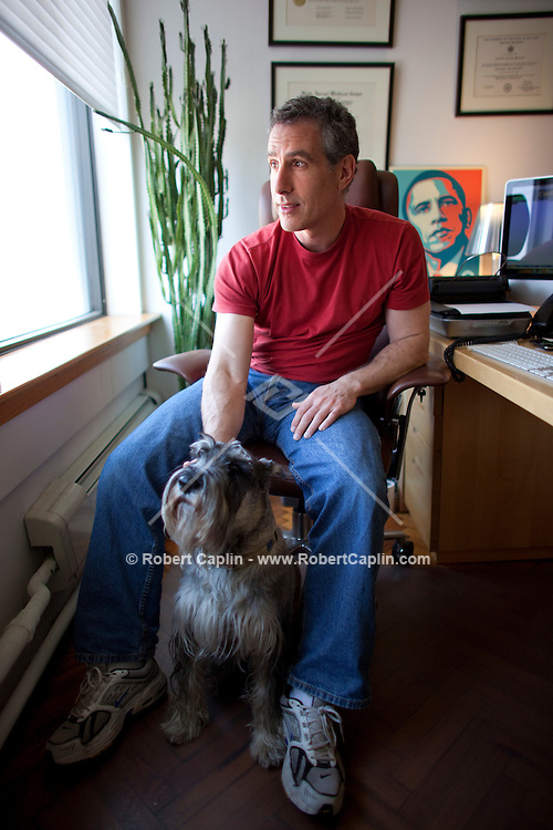 Dr. Martin Beitler and his partner had to walk away from a $173,000 deposit on a two-bedroom apartment at the Chelsea Modern, at 447 West 18th Street.  They are in litigation right now to try to get their money back.  Photo taken in his office in New York, NY on Tuesday, March 17, 2009.