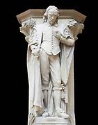 William Harvey, statue