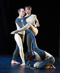 Nearly Ninety<br /> The Merce Cunningham Dance Company <br /> choreography by Merce Cunningham<br /> at The Barbican Theatre, London, Great Britain <br /> rehesrsal <br /> 26th October 2010 <br /> <br /> <br /> <br /> Silas Riener<br /> Jamie Scott<br /> John Hinrichs<br /> <br /> <br /> Photograph by Elliott Franks<br /> 2010©Elliott Franks