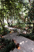 Path to villa