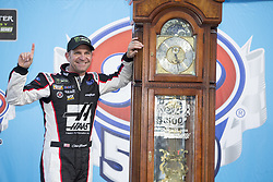 March 26, 2018 - Martinsville, Virginia, United States of America - March 26, 2018 - Martinsville, Virginia, USA: Clint Bowyer (14) wins the STP 500 at Martinsville Speedway in Martinsville, Virginia. (Credit Image: © Chris Owens Asp Inc/ASP via ZUMA Wire)