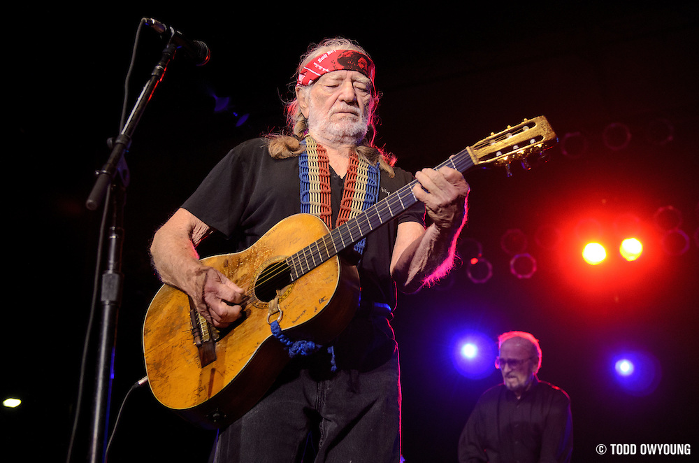 Willie Nelson performs live on the Country Throwdown Tour 2011 at the World Shooting Complex in Sparta, Illinois on June 11, 2011.
