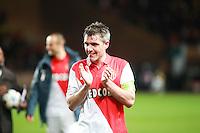 Joie Jeremy Toulalan - 17.03.2015 - Monaco / Arsenal - 1/8Finale Retour Champions League<br />Photo : Jean Christophe Magnenet / Icon Sport