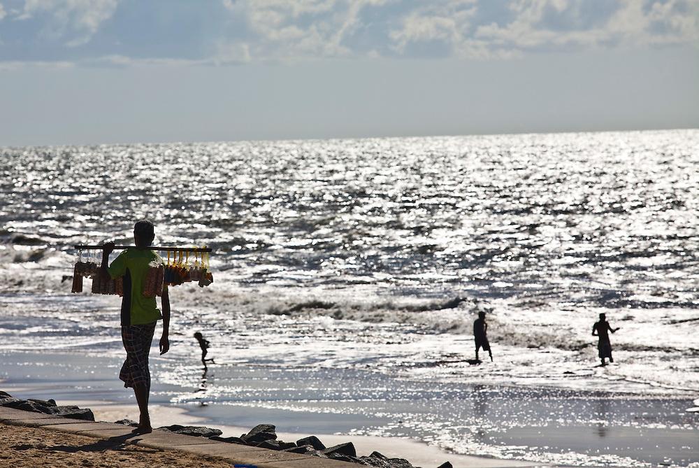 Recife_PE, Brasil...Praia de Boa Viagem em Recife, Pernambuco..Boa Viagem Beach in Recife, Pernambuco..Foto: JOAO MARCOS ROSA / NITRO
