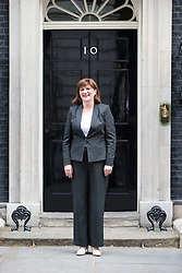 © Licensed to London News Pictures . 11/05/2015 . London , UK . NICKY MORGAN arrives at 10 Downing Street this morning (11th May 2015) . Photo credit : Joel Goodman/LNP