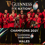 20210327 Rugby, Guinness 6 Nations : Trophy Presentation