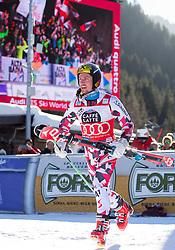 20.12.2015, Gran Risa, La Villa Stern, ITA, FIS Ski Weltcup, Alta Badia, Riesenslalom, Herren, Siegerehrung, im Bild Marcel Hirscher (AUT, 1. Platz) // winner Marcel Hirscher of Austria Celebrate on Podium during the award ceremony after men' s Giant Slalom of the Alta Badia FIS Ski Alpine World Cup at the Gran Risa Course in La Villa Stern, Italy on 2015/12/20. EXPA Pictures © 2015, PhotoCredit: EXPA/ Johann Groder