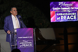 Haim Saban at Creative Community For Peace 2nd Annual 'Ambassadors Of Peace' Gala held at Los Angeles on September 26, 2019 in Private Residence, California, United States (Photo by © Jc Olivera/VipEventPhotography.com