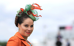 Maria Zherebtsova during Ladies Day of the 2019 Invested Derby Festival at Epsom Racecourse, Epsom.