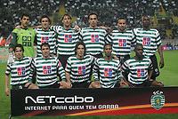 """LISBOA 21 MARCH 2005: # and # in the 26 leg of the Super Liga, season 2004/2005, match  Sporting CP (2) vs FC Porto (0), held in """"Alvalade XXI"""" stadium,  21/03/2005  20:31:42<br /> (PHOTO BY: NUNO ALEGRIA/AFCD)<br /> <br /> PORTUGAL OUT, PARTNER COUNTRY ONLY, ARCHIVE OUT, EDITORIAL USE ONLY, CREDIT LINE IS MANDATORY AFCD-PHOTO AGENCY 2004 © ALL RIGHTS RESERVED"""