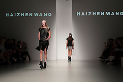 "London, 17 September 2013<br /> LONDON FASHION WEEK<br /> DESIGNER NAME: Haizhen Wang<br /> <br /> BACKGROUND: Haizhen is originally from Dalian, China. He graduated from Central Saint Martins with an MA (Hons) in Womenswear, having completed a BA (Hons) in Design Technology at London College of Fashion. After graduating he worked for Max Mara, Boudicca and All Saints.<br /> <br /> SIGNATURES: ""Masculine femininity with architectural references. Classical tailoring, bold design joined with precision and impeccable quality.""<br /> <br /> TRADEMARK PIECE: ""Masculine, tailored jackets with an edge.""<br /> <br /> IDEAL CLIENT: ""An extraordinary woman who is confident yet sensual and appreciates shape and form.""<br /> Contact details<br /> Sales Contact<br /> <br /> Yui Tai<br /> sales@haizhenwang.co.uk<br /> Tel: +44 (0) 20 7836 7778<br /> Mobile: +44 (0) 7453 599077<br /> <br /> Press and Sales for North America <br /> greg@gregmillsshowroom.com<br /> Tel: +1 (0) 91 7991 889<br /> <br /> Press Contact<br /> <br /> Indie Nahal<br /> indie@haizhenwang.co.uk<br /> Tel: +44 (0) 79 4413 3531<br /> <br /> Dagmara Bandura<br /> press@haizhenwang.co.uk<br /> Tel: +44 (0) 79 2303 7172"