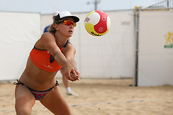 20160724 NED: NK Beachvolleybal 2016, Scheveningen <br />Joy Stubbe <br />©2016-FotoHoogendoorn.nl / Pim Waslander