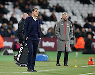 West Ham's Slaven Bilic looks on dejected during the Premier League match at the London Stadium, London. Picture date December 3rd, 2016 Pic David Klein/Sportimage