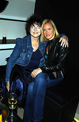 Left to right, DR MIRIAM STOPPARD and her daughter LINZI at a party to celebrate the first 20 years of fashion label Donna Karan held at her store at 19/20 New Bond Street, London W1 on 21st September 2004.<br /><br />NON EXCLUSIVE - WORLD RIGHTS
