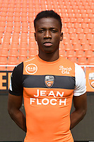 Mohamed Mara during photoshooting of FC Lorient for new season 2017/2018 on September 12, 2017 in Lorient, France. (Photo by Philippe Le Brech/Icon Sport)