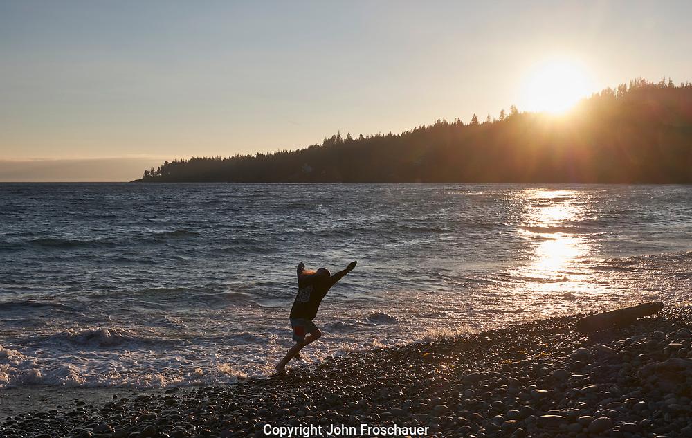Vancouver Island, British Columbia Tuesday, July 17, 2018. (Photo/John Froschauer)