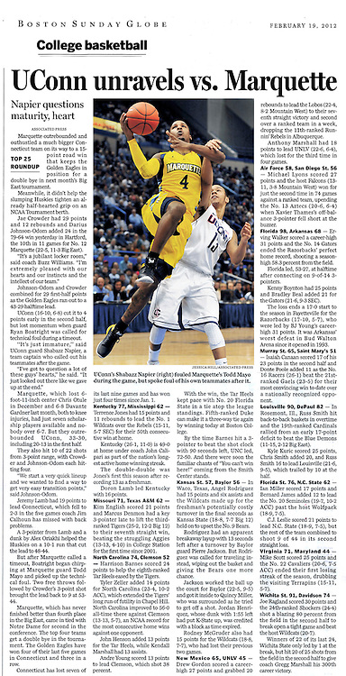 Sunday Boston Globe 2-19-2012