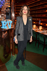 MORGANE POLANSKI at a dinner hosted by Roger Vivier to celebrate The Prismick Denim by Camillle Seydoux held at Casa Cruz, 123 Clarendon Road, London on 17th March 2016.