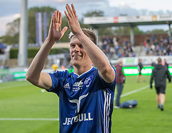 Kasper Enghardt (Lyngby Boldklub) efter kampen i 3F Superligaen mellem Lyngby Boldklub og Hobro IK den 20. juli 2020 på Lyngby Stadion (Foto: Claus Birch).