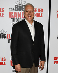 May 1, 2019 - MICHAEL J. MASSIMINO attends The Big Bang Theory's Series Finale Party at the The Langham Huntington. (Credit Image: © Billy Bennight/ZUMA Wire)