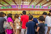 14 OCTOBER 2012 - BANGKOK, THAILAND:  A gold shop on Yaowarat Road in Bangkok's Chinatown.      PHOTO BY JACK KURTZ