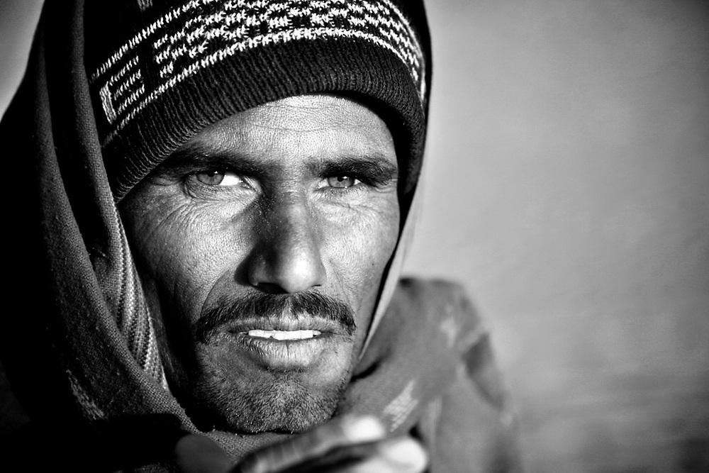 Rabari man, india. Photo by Lorenz Berna