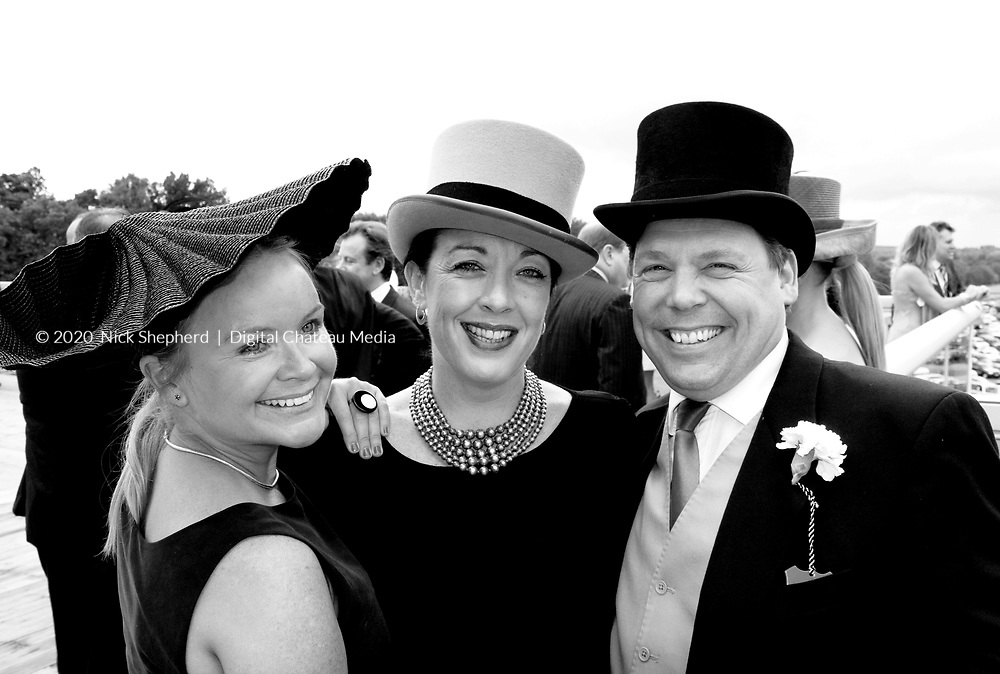 Guests at Royal Ascot 2011 arrive at the Bessborough Restaurant to dine and watch the annual prestigious horse racing events of the day.