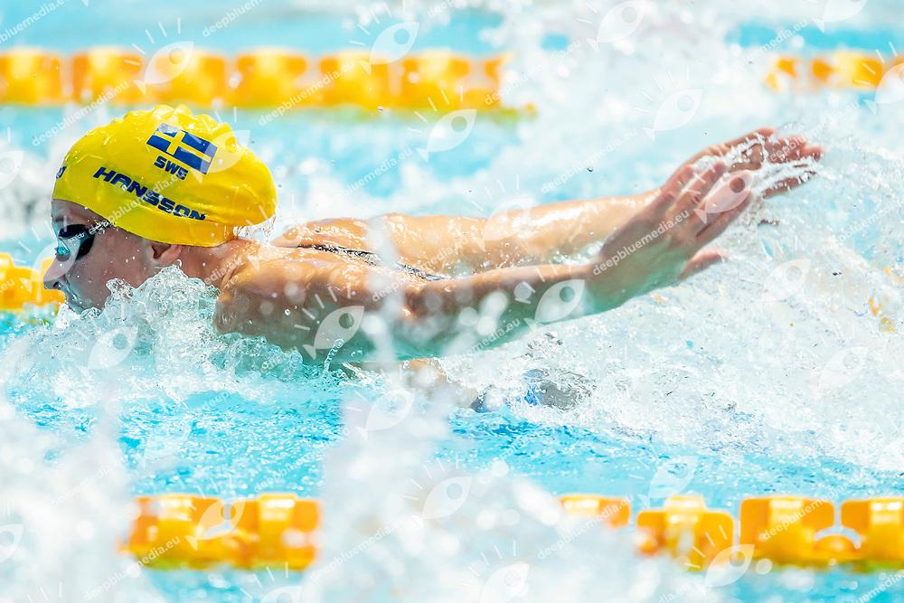 HANSSON Louise SWE Sweden<br /> Gwangju South Korea 21/07/2019<br /> Swimming Women's Butterfly 100m Preliminary<br /> 18th FINA World Aquatics Championships<br /> Nambu University Aquatics Center <br /> Photo © Andrea Masini / Deepbluemedia / Insidefoto