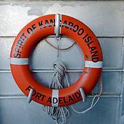 Spirit of Kangaroo Island Ferry heading to Kangaroo Island.