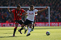 Football - 2016 / 2017 Premier League - AFC Bournemouth vs. Tottenham Hotspur<br /> <br /> Moussa Dembele of Tottenham Hotspur under pressure from Bournemouth's Joshua King at Dean Court (The Vitality Stadium) Bournemouth<br /> <br /> COLORSPORT/SHAUN BOGGUST
