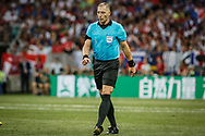 Referee's Nestor Pitana during the 2018 FIFA World Cup Russia, final football match between France and Croatia on July 15, 2018 at Luzhniki Stadium in Moscow, Russia - Photo Thiago Bernardes / FramePhoto / ProSportsImages / DPPI