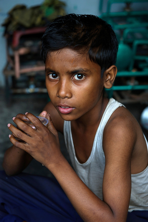 Child labourer,Calcutta, West Bengal, India