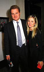 VISCOUNT & VISCOUNTESS ROTHERMERE at a reception in London on 18th October 1999.MXX 50