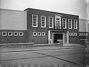 31/10/1955<br /> 10/31/1955<br /> 31 October 1955<br /> <br /> Exterior and Interior of Drimnagh Community Centre, Dublin