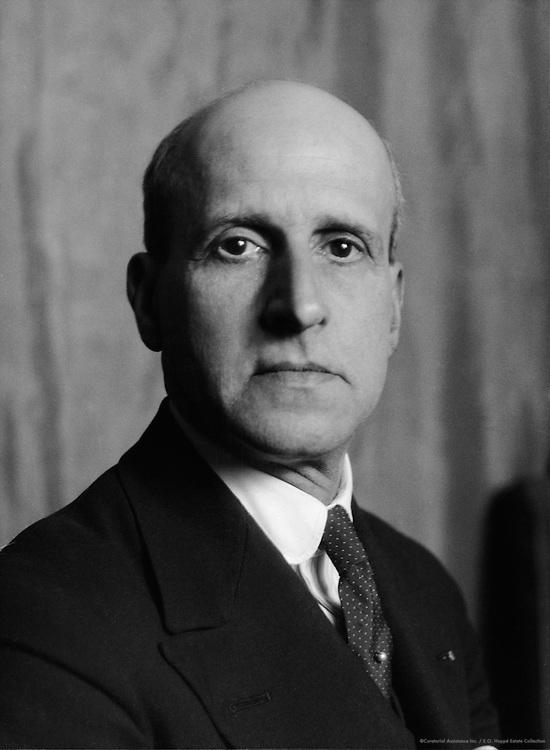 Fini Henriques, Danish composer and musician, c1933