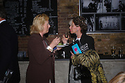 Sophia Steel and Laeticia Leyndd. Blood Wedding Post - performance party. Count Christophe Gollut's annual fundraising Gala for the Almeida. Islington. London. 17 May 2005. ONE TIME USE ONLY - DO NOT ARCHIVE  © Copyright Photograph by Dafydd Jones 66 Stockwell Park Rd. London SW9 0DA Tel 020 7733 0108 www.dafjones.com