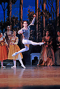 2/25/2008 -- GASTON DE CARDENAS/EL NUEVO HERALD -- Miguel Angel Blanco as Prince Siegfried in Cuban Classical Ballet's production of Tchaikovsky's Swan Lake at the Jackie Gleason Theater of the Performing Arts.