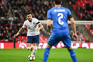England Defender Kyle Walker (4) in action during the Friendly match between England and Italy at Wembley Stadium, London, England on 27 March 2018. Picture by Stephen Wright.