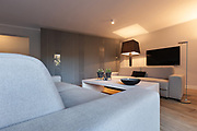 Interior of house, modern comfortable living room