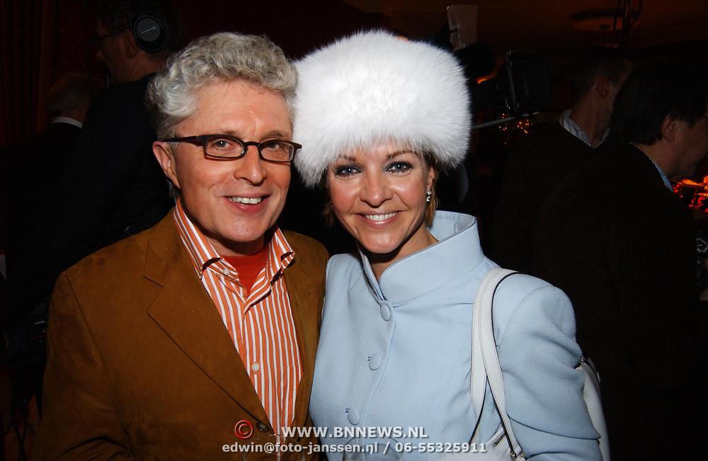 Kerstborrel Princess 2004, Jacques d'Ancona en Marisca van Kolck