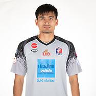 THAILAND - APRIL 11: Watchara Buathong #1 of Port FC on April 11, 2019.<br /> .<br /> .<br /> .<br /> (Photo by: Naratip Golf Srisupab/SEALs Sports Images/MB Media Solutions)