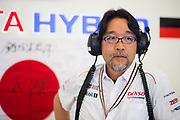 Hisatake Murata, General Manager Motorsports Unit Development, TOYOTA GAZOO RACING<br /> TOYOTA GAZOO  Racing. <br /> Le Mans 24 Hours Race, 12th to 18th June 2017<br /> Circuit de la Sarthe, Le Mans, France.